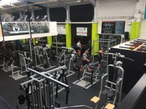 New colour scheme for gym