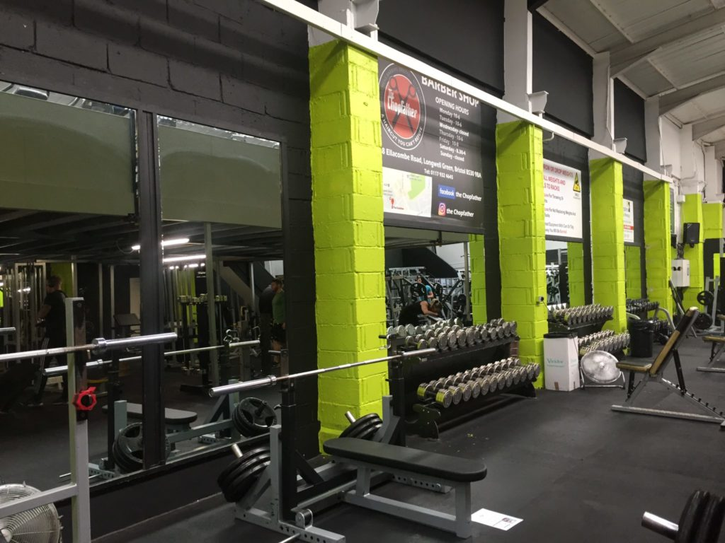 Db wall new coat of paint ministry of fitness for Best wall color for home gym