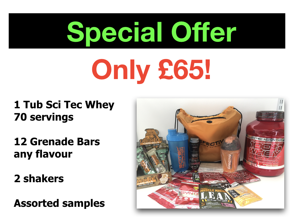 Special Offer On Grenade Bars And Sci Tec Whey